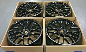 20 Porsche Cayenne Oem Gts Turbo 2019 Hybrid Wheels Rims Made Factory Set 4 New