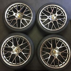 20 Porsche 911 996 997 Gt4 Wheels Tires Rims New 20x9 20x10 Turbo Germany