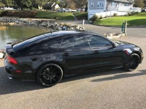 20 Audi Rs Rs5 Wheels Rims Custom Glossy Black Rs6 A6 A7 A8 Made In Germany