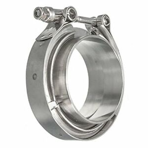 Hfs r Stainless Steel 304 Quick Release V band Turbo Downpipe Clamp 2inch
