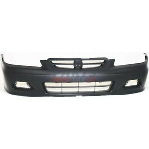 New Front Bumper Cover Fits 2001 2002 Honda Accord Coupe 04711s82a91zz
