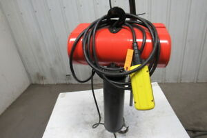 Cm Lodestar L2 1 Ton Electric Chain Hoist 2 Speed 5 16 Fpm 460v 3ph 21 Lift