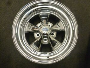 15x8 5x4 7 Cragar 61c Series S S Super Sport Single Chrome Wheel Rim 61c583340