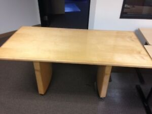 6ft Maple Conference Table local Pickup Only