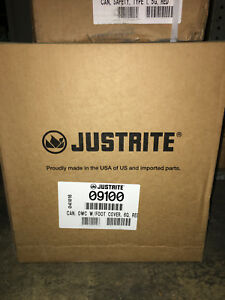 Justrite 09100 Type I Safety Cans Flammables 5 Gal Red