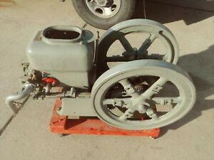 1918 Antique 3 Hp Hercules Hit Miss Gas Engine Open 475 R p m 3ek
