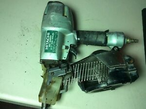Used In Good Condition hitachi Nv 65ah 2 1 2 Coil Nailer