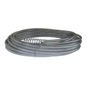 Plumbing Cable With Bulb Auger For K 40 K 45 Sink Machines 5 16 In X 50 Ft