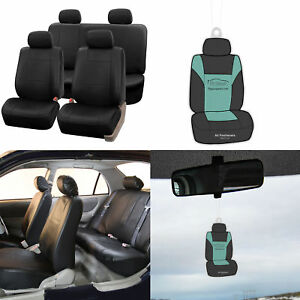 Seat Covers For Auto Car Suv Pu Leather Full Set With Free Gift