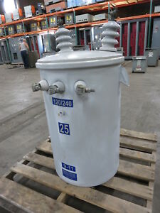 4 way Electric 25 Kva 7200 12470y 120 240 Pole Mount Transformer 25kva Mounted