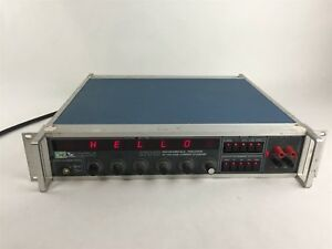 Valhalla 2701c Programmable Precision Dc Voltage Calibrator Current Standard