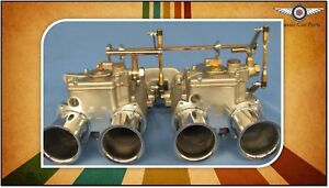 Ford 2l Pinto Escort Cortina Fajs Twin 50 Dcoe Weber Sidedraft Carburettor Kit