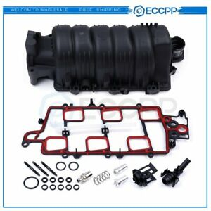 Upper Intake Manifold W Gasket For 1995 2005 Chevy Buick Olds 3800 3 8l V6 New