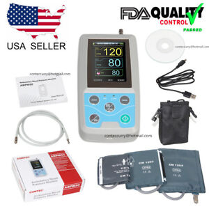 Contec Ambulatory Blood Pressure Monitor software 24h Nibp Holter Abpm50 Ce fda