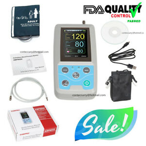 Ambulatory Blood Pressure Monitor 24h Nibp Holter Abpm50 Adult Cuff software