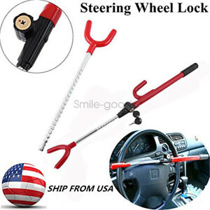 Steering Wheel Security Lock Anti Theft System Car Truck Suv Auto Safety S