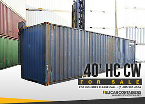 40ft Hc Used Shipping Container For Sale In Denver Co