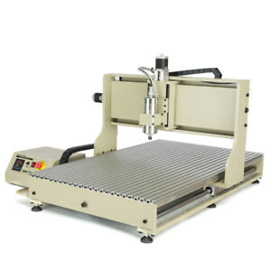 Usb 2200w Vfd 4 Axis 6090 Cnc Router Engraver Machine Metal Woodworking Milling