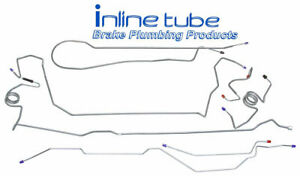 1999 2003 Ford F250 F350 Long Crew 4wd Complete Brake Line Kit Set 4whl Abs Ss