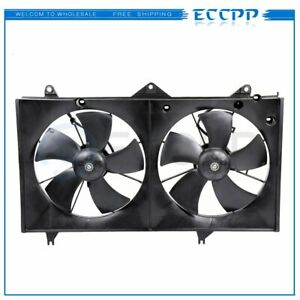 Radiator Ac Condenser Plastic Cooling Fan Fits For 2002 2006 Toyota Camry 2 4l