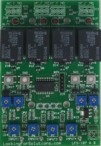 4 Channel Relay Timer Board