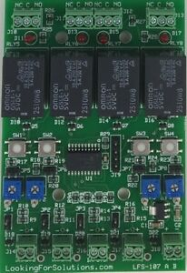 4 Channel Analog Input Relay Controller Board