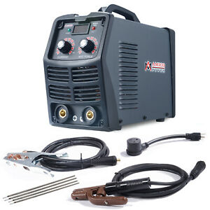 Mma 180 200 Amp Stick Arc Inverter Dc Welder 115v 230v Dual Voltage Welding