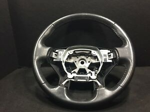 08 12 Nissan Altima Coupe Steering Wheel Leather Oem A2