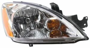 Headlight For 2004 Mitsubishi Lancer Wagon Passenger Side W Bulb