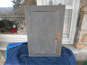 Antique Primitive Wood Wall Wood Cabinet