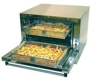Greaseless Fryer Express Two Basket Greaseless Fryer Commercial Air Fryer