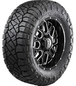 2 Nitto Ridge Grappler Lt285 50r22 Tires 10 Ply E 121 118q 285 50 22