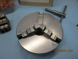 Atlas Craftsman 101 618 6 Lathe 3 Jaw Scroll Chuck 4 With 1 X 10 T p i