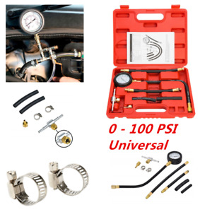 0 100 Psi 0 7 Bar Fuel Injection Pump Pressure Injector Tester Gauge Tools