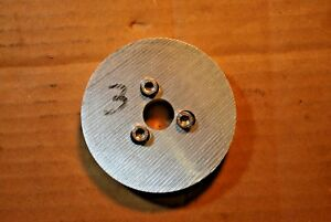 Emco Compact 5 Chuck Back Plate 3 1 8 Inch Diameter
