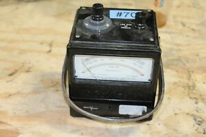 Sensitive Research Instrument Corp Watts Meter Model university Es 18278