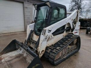 2013 Bobcat T650 Skid Steer Track Loader With 80 Bucket