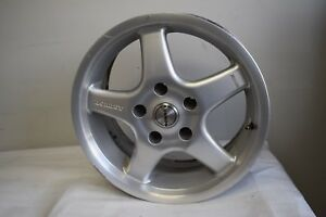 Bmw Borbet 16 7 5x16 Wheel Rim With Center Cabs Factory Oem 2