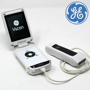 Handheld Ge Vscan Ultrasound Dual Head Machine Portable Scan System Rev 1 4