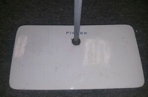 Fisher Scientific Porcelain Lab Stand Ring Support Stand