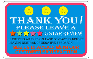 Thank You For Your Purchase Labels 1 Roll Of 1000 Thank You Sticker Labels 2 X 3