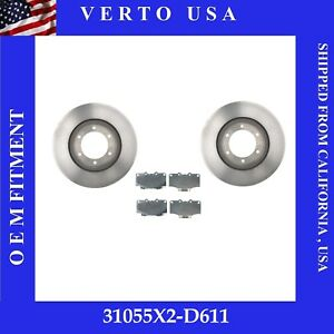 Front Brake Rotors Pads For Toyota 4runner 1992 1994 Toyota T100 4wd 1993 1998