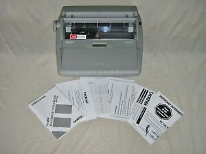 Brother Sx 4000 Electronic Typewriter With Display And Dictionary