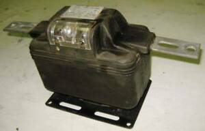 General Electric Current Transformer 75 5 Ratio Jkm 3