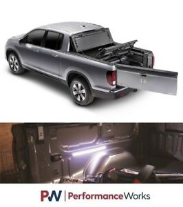 Bak For 17 18 Honda Ridgeline 5 3 Fibermax Tonneau Cover 1126602 Motionled