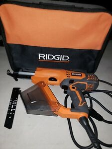 Ridgid R6791 Corded 3 In Drywall And Deck Collated Screwdriver Screw Gun