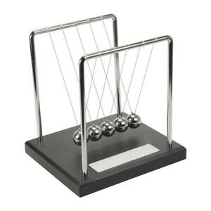 Personalised Newton s Cradle Kinetic Executive Desk Plaque Can Be Engraved