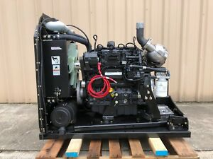 Deutz 2 9 L4 new Diesel Engine Complete With Radiator 660sj Jlg