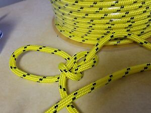 200 Ft Double Braid Polyester 1 2 Arborist Rigging Tree Bull Rope 8 000 Lb