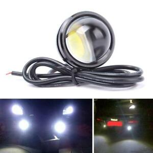 15w Red Led Crystal Light Car Auto Drl Daytime Driving Signal Lamp 24v